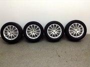 Диски литые R14 + шины Continental 185/60 R14