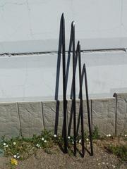 Ломы строительные разных диаметров и длины