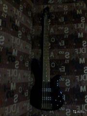 Бас-гитара 5 струн YAMAHA RBX 375 BL продам б/у Ижевск