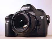 Canon 5D Полнокадровый + Canon 50 mm 1.8