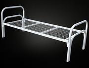 Кровать металлическая одноярусная КМ-1.40